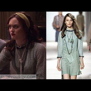 NWT ASO Blair Waldorf Marc Jacobs Mia blouse